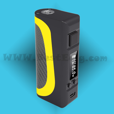 How to use Pisces 85W Box MOD Battery for tank vape