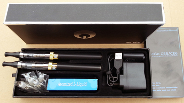 eGo CE6 1100mAh clearomizer e-cig package