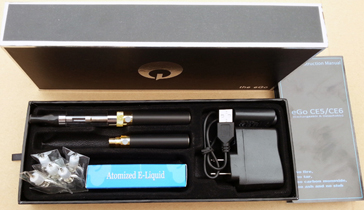 eGo CE6 cartomizer e-cig package