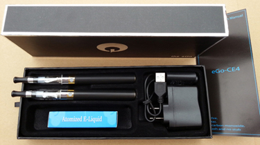 eGo CE4 MEGA clearomizer kit package
