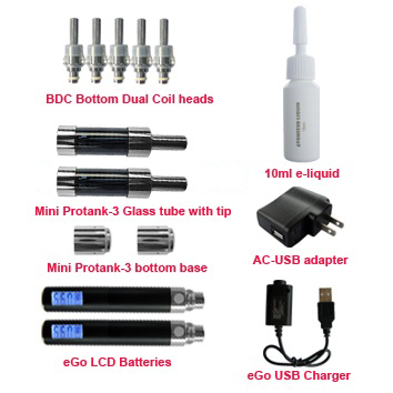 LCD display mini protank-3 starter kit accessories
