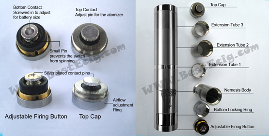 How to use Nemesis Mechanical MOD|User operation manual for