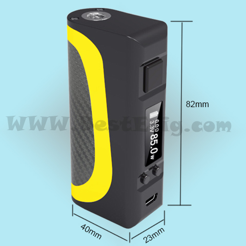 the size of Boarse pisces Box MOD