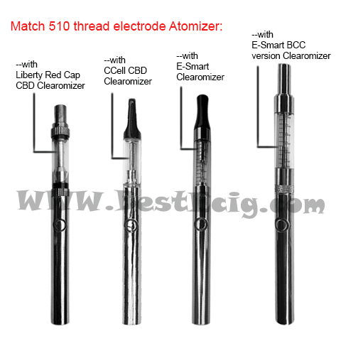 E-Smart battery fit what atomizer