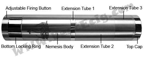 Parts of Nemesis Mechanical MOD