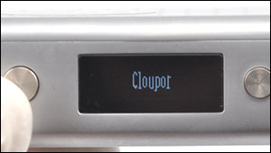 turn on/off the Cloupor mini