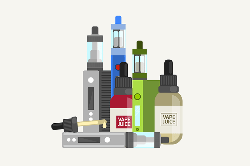 how to vape nicotine salt e-liquid