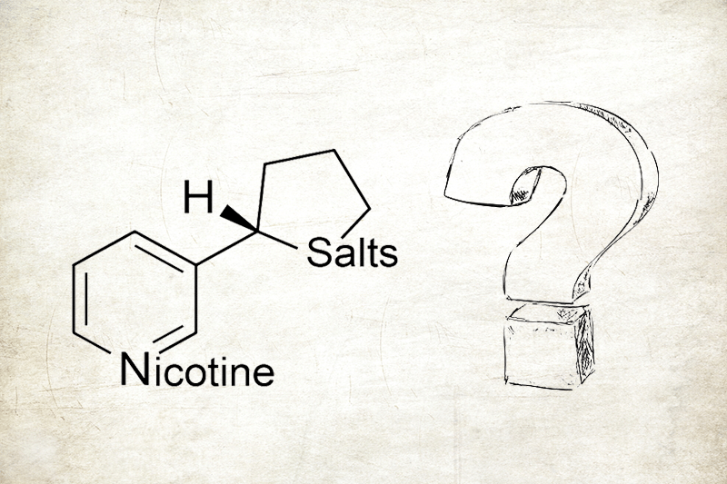 what is nicotine salt e-liquid|e-juice